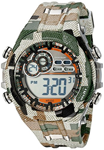 Armitron Sport Men's 40/8188MIL Digital Chronogra...
