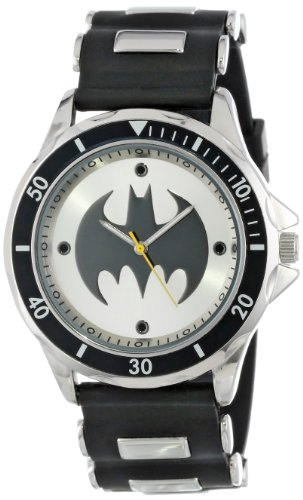 Batman Men's BAT9062 Analog Watch With Black Rubb...
