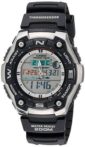 Casio Men's AQW101-1AVCF Active Dial Multi-Task G...