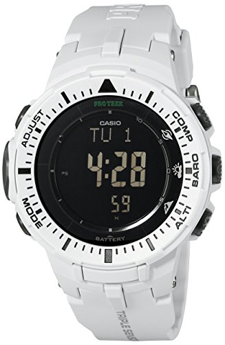 Casio Men's Pro Trek PRG-300-7CR Solar Watch with...