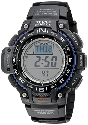 Casio Men's SGW-1000-1ACR Triple Sensor Digital D...