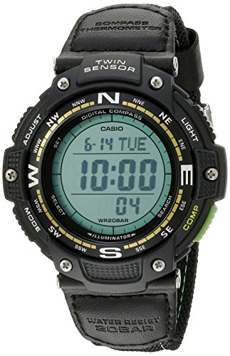 Casio Men's SGW-100B-3A2CF Twin Sensor Digital Di...