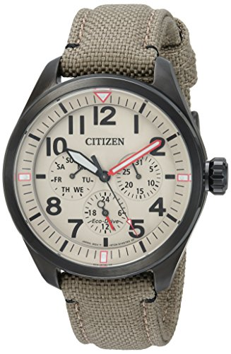 Citizen Men's 'Military' Quartz Stainless Steel a...