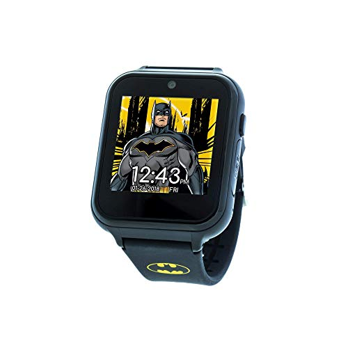 DC Comics Touch-Screen Watch with Silicone Strap,...