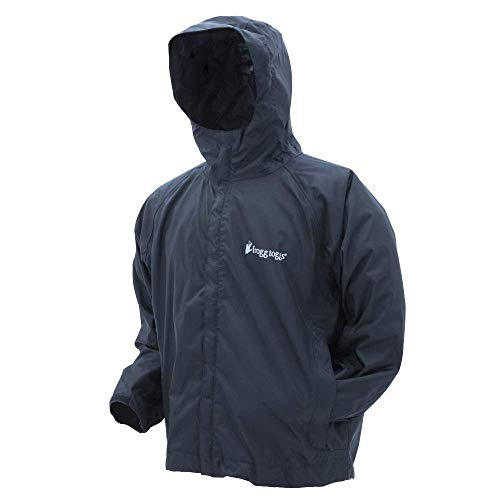 Frogg Toggs Stormwatch Jacket, Black, Size Large