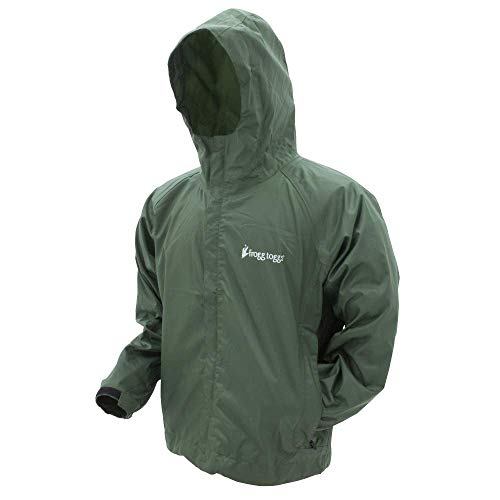 Frogg Toggs Stormwatch Jacket, Green, Size Large