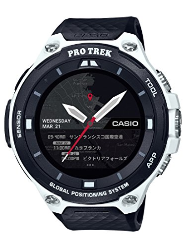Casio Men's 'PRO TREK' Quartz Resin Outdoor Smart...