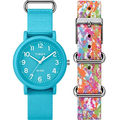 Timex Unisex TWG018300 Weekender Color Rush Blue/...