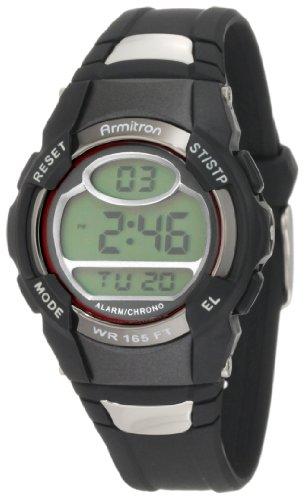 Armitron Sport Unisex 45/6975RED Chronograph Blac...
