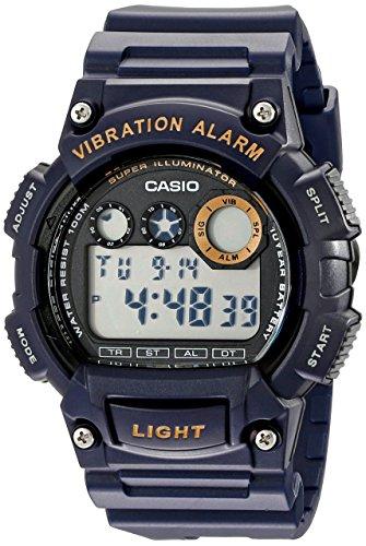 Casio Men's W735H-2AVCF Super Illuminator Blue Wa...