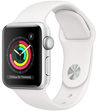 Apple Watch Series 3 (GPS, 38mm) - Silver Aluminu...
