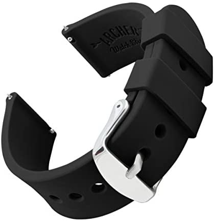 Archer Watch Straps - Silicone Quick Release Soft...