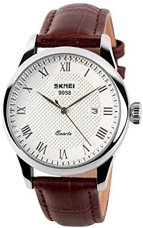 CakCity Men's Business Analogou Casual Watches Qu...