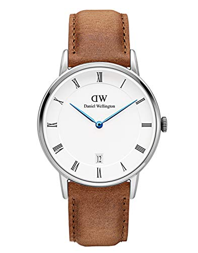 Daniel Wellington Dapper Durham Silver Watch, 34m...