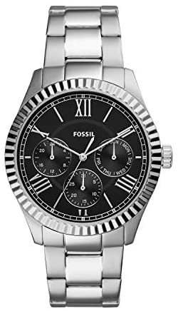 Fossil Men's Chapman Stainless Steel Casual Quart...