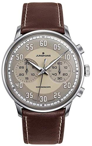 Junghans Meister Driver Chronoscope Mens Automati...