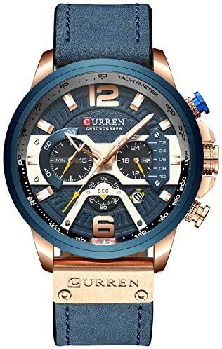 Mens Luxury Watches Business Chronograph Dress Wa...
