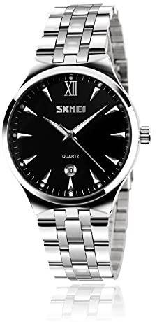 Mens Stainless Steel Analog Watch, Mens Luxury Wr...