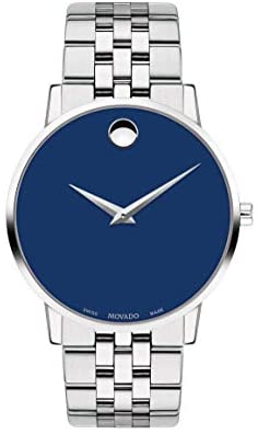 Movado Men's Museum Stainless Steel Watch with a ...