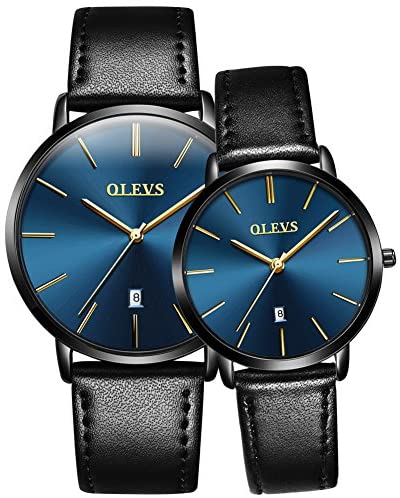 OLEVS Couples Watches for Men and Women - Ultra T...