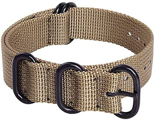Ritche 18mm 20mm 22mm 24mm Nato Strap With Black ...