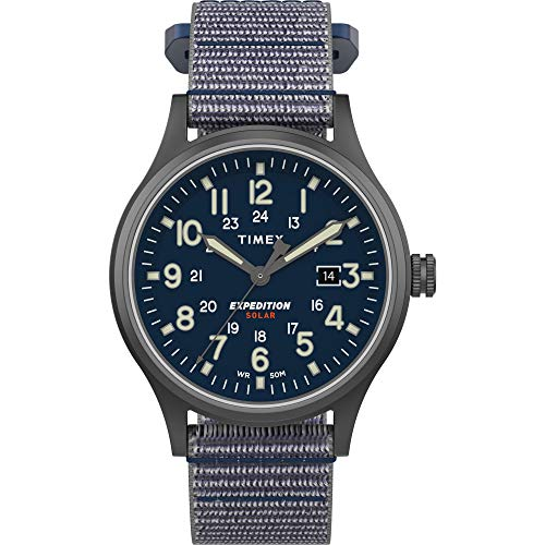 Timex Men's TW4B18700 Expedition Scout Solar 40mm...