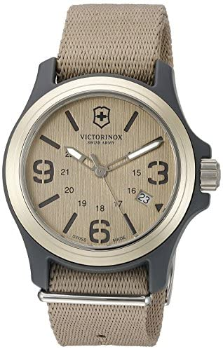 Victorinox Swiss Army Men's Original Swiss Quartz...