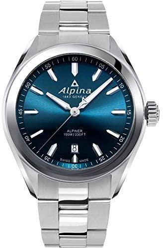 Alpina Men's Alpiner Swiss Quartz Sport Watch wit...