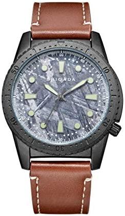 BRIGADA Men's Watches Business Casual Quartz Wris...