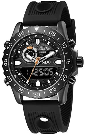 Big Face Military Tactical Watch for Men, Mens Ou...