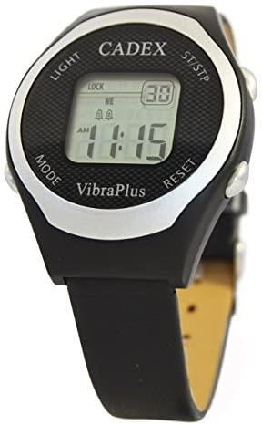 Cadex VibraPlus – 8 Alarm Reminder Watch with Vib...