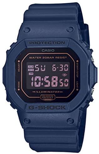 Casio DW5600BBM-2 G-Shock Men's Watch Navy Blue 4...