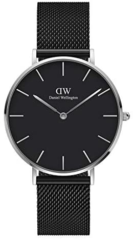 Daniel Wellington Petite Ashfield Watch, Matte Bl...