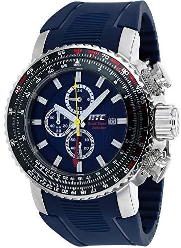 HMEWatch Men's ATC Aviator Chronograph/Dual-Time ...