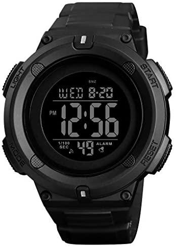 Men's Digital Sports Watch LED Screen Large Face ...