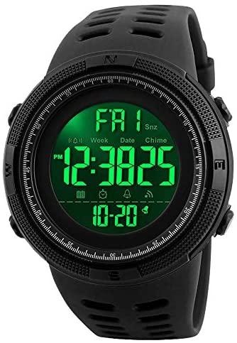 Men's Digital Sports Watch Waterproof Military St...