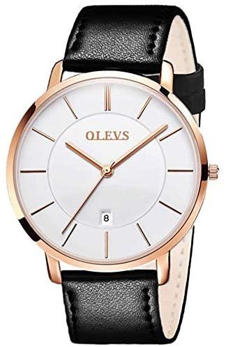 OLEVS Mens Minimalist Ultra Thin Watches Fashion ...