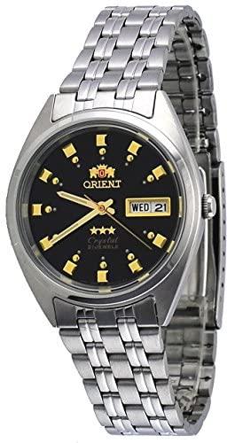 Orient FAB00009B Men's 3 Star Stainless Steel Bla...