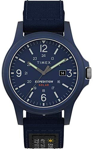 Timex Men's Expedition Acadia Solar-Powered 40mm ...