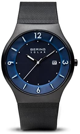 BERING Time | Men's Slim Watch 14440-227 | 40MM C...