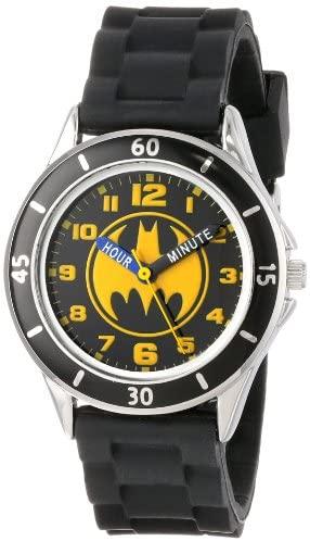 Batman Kids' Analog Watch with Silver-Tone Casing...