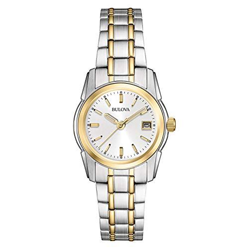 Bulova Women's 98M105 Silver Dial Bracelet Watch