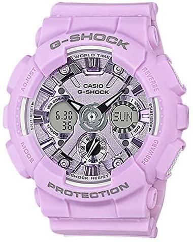 Casio G-Shock Women's GMAS120DP S Series Analog-D...