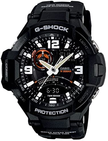 Casio Men's GA1000 Gravity Master G-Shock Aviatio...