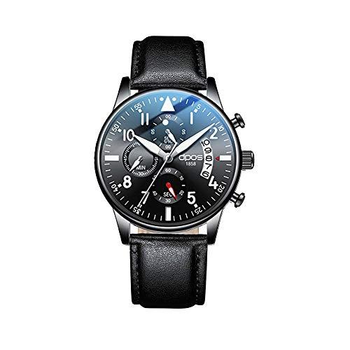 DPOS Men's Watch Ultra Thin Waterproof Wristwatch...