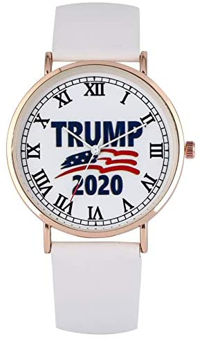 Different White Dial with Donald Trump 2020 Patte...
