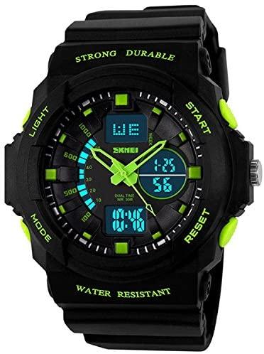 Fanmis Digital Fashion Cobra Men's LED Watch Sili...