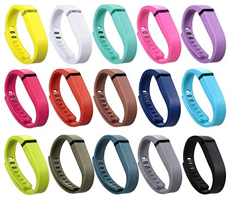 I-SMILE 15PCS Replacement Bands with Metal Clasps...