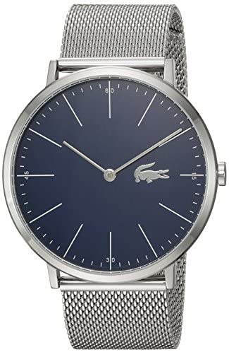 Lacoste Men's Moon Quartz Watch with Stainless-St...
