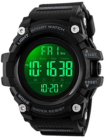 Mens Watches, Waterproof Military Dightal Watch w...